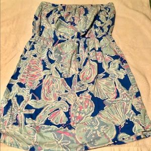 Lilly Pulitzer Windsor Strapless dress